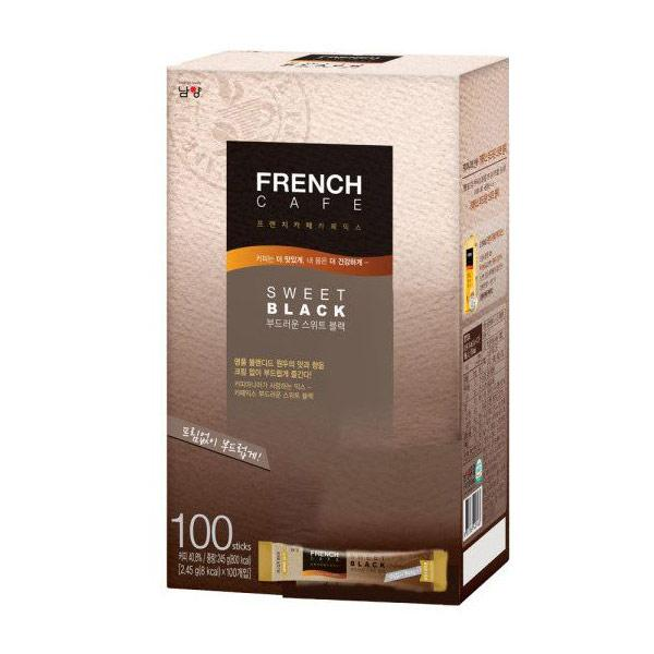 프렌치카페 카페믹스 부드러운블랙(2.45g*100T/남양)