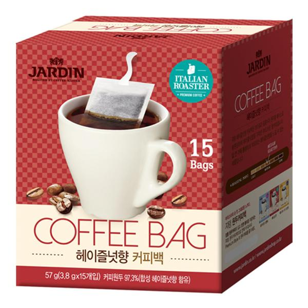 오리지날 원두 커피백(3.8g*15T/헤이즐넛/쟈뎅)