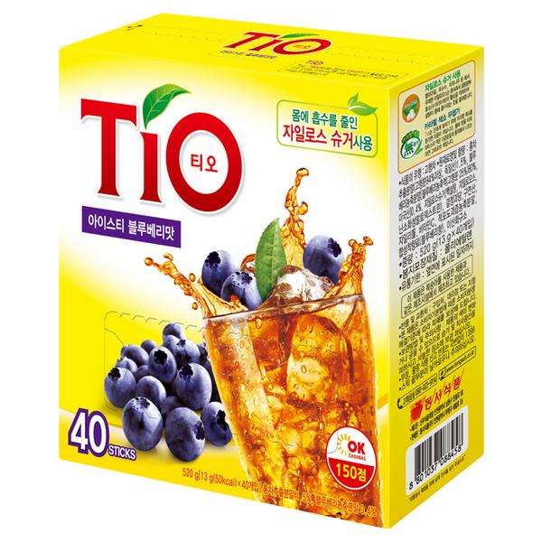 TIO(티오) 아이스티 블루베리(13g*40T/동서식품)