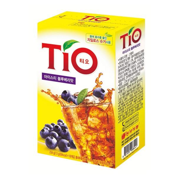 TIO(티오) 아이스티 블루베리(13g*18T/동서식품)