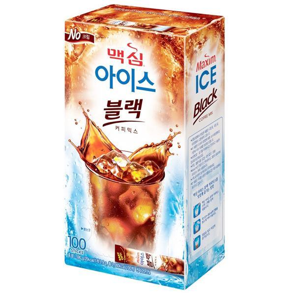 맥심 아이스 블랙커피믹스(6.2g*100T/동서식품)