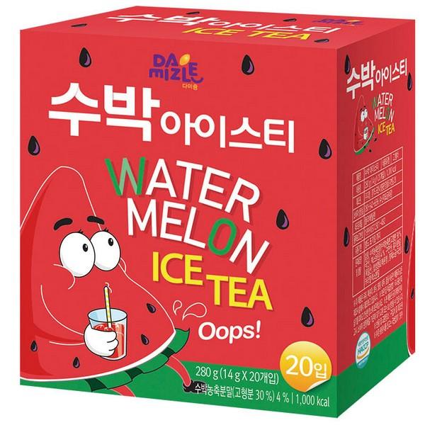 ⓢ수박 아이스티(14gx20T/다정)