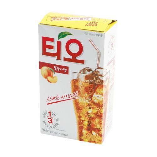 TIO(티오) 아이스티 복숭아(13g*18T/동서식품)