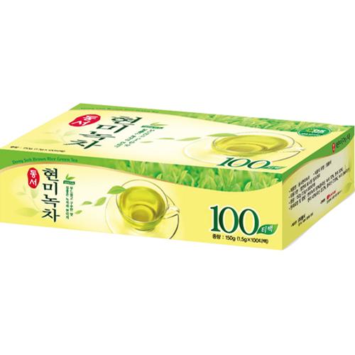 ⓢ현미녹차(1.5g*100T/동서식품)